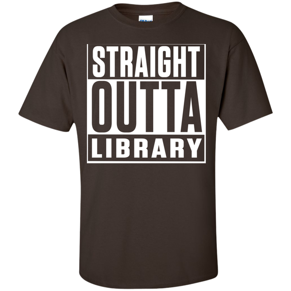 Straight Outta Library T-Shirt - TeachersLoungeShop - 6