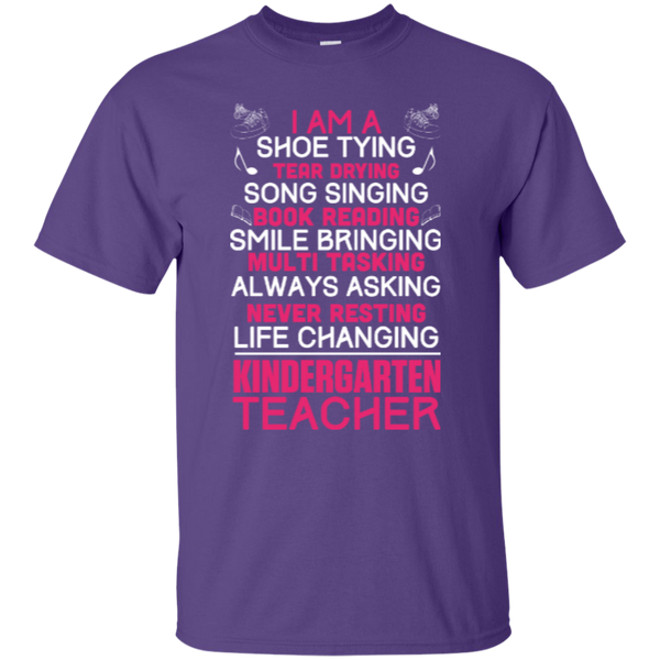 I'm a Kindergarten Teacher  T-Shirt - TeachersLoungeShop - 6