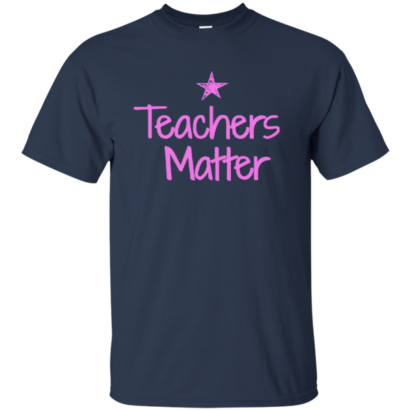 Teachers Matter Cotton T-Shirt - TeachersLoungeShop - 9