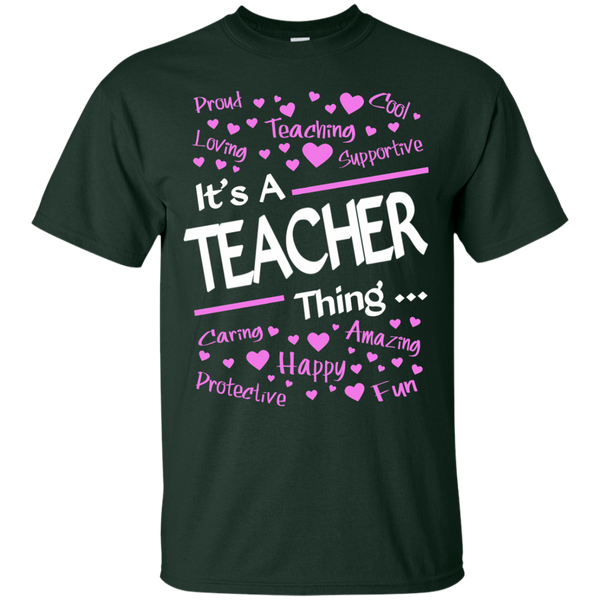 It's a Teacher Thing Cotton T-Shirt - TeachersLoungeShop - 2