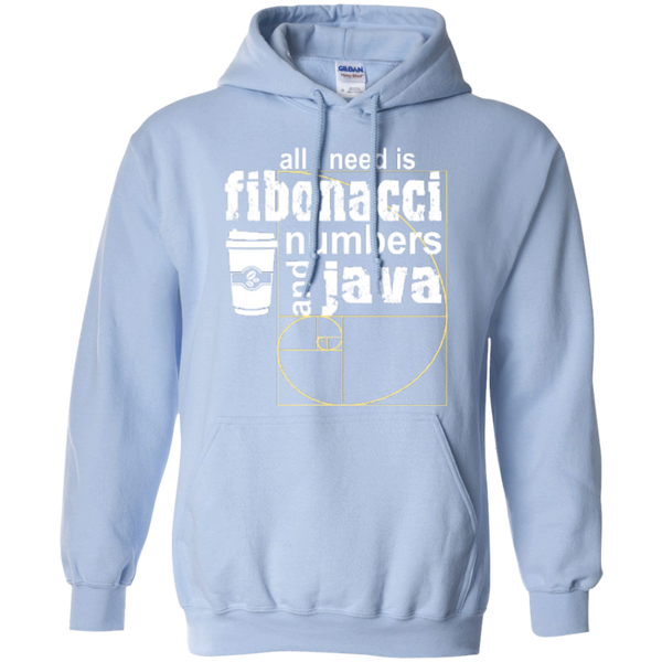 All i need is fibonacci numbers and java  Hoodies - TeachersLoungeShop - 8