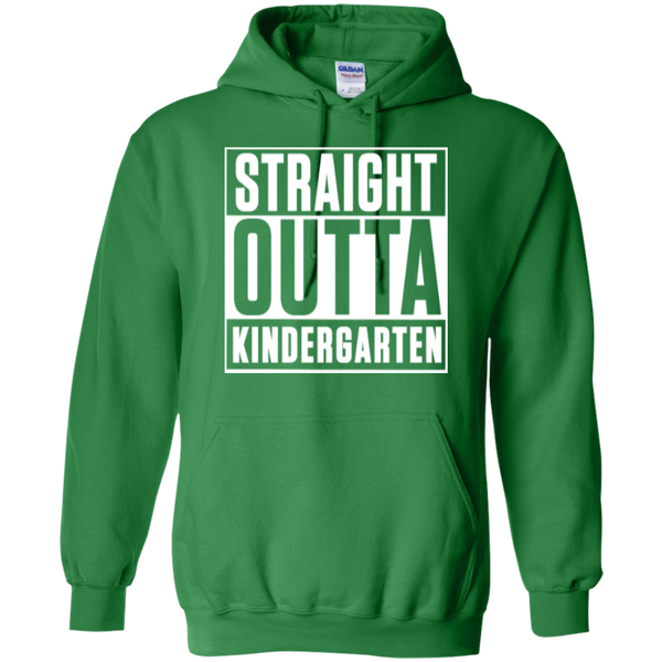 Straight Outta Kindergarten Hoodie 8 oz - TeachersLoungeShop - 7
