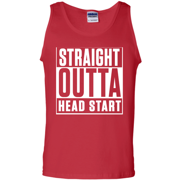 Straight Outta Head Start  Cotton Tank Top - TeachersLoungeShop - 3