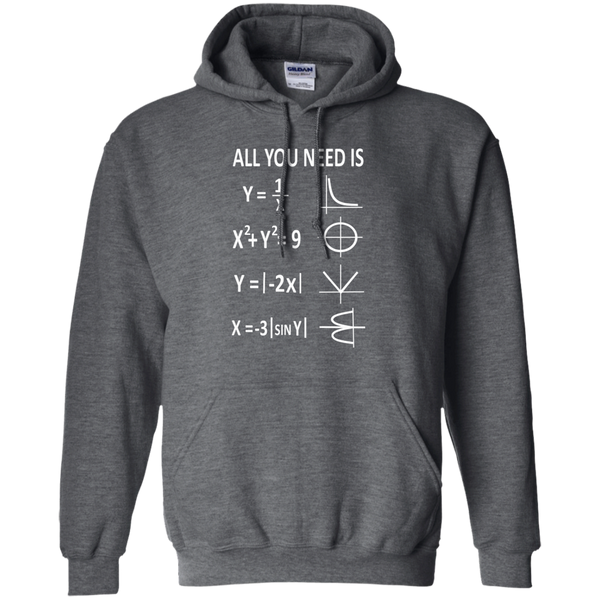 All You Need is Love Pullover Hoodie 8 oz - TeachersLoungeShop - 3