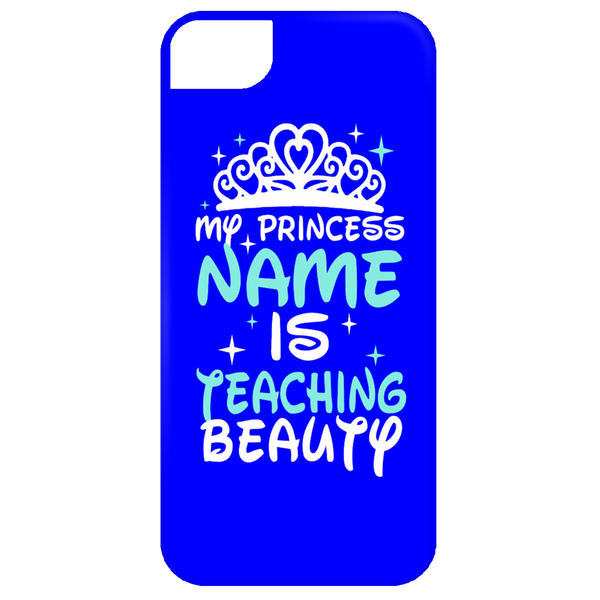 My Princess Name is Teaching Beauty Mobile iPhone 5 Case - TeachersLoungeShop - 3