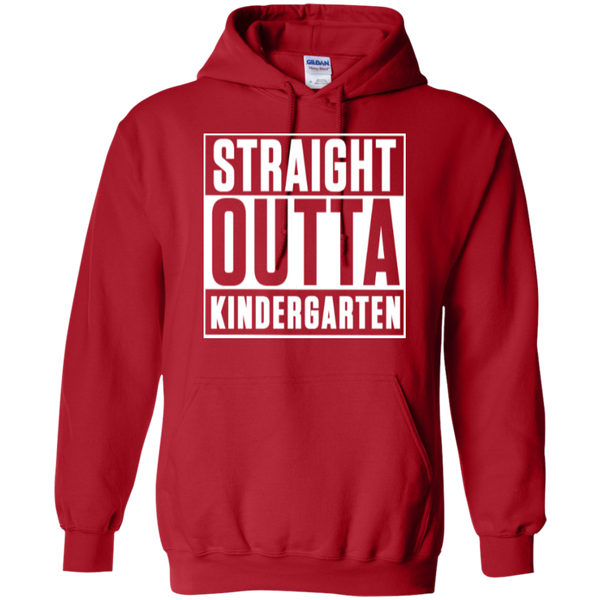 Straight Outta Kindergarten Hoodie 8 oz - TeachersLoungeShop - 11