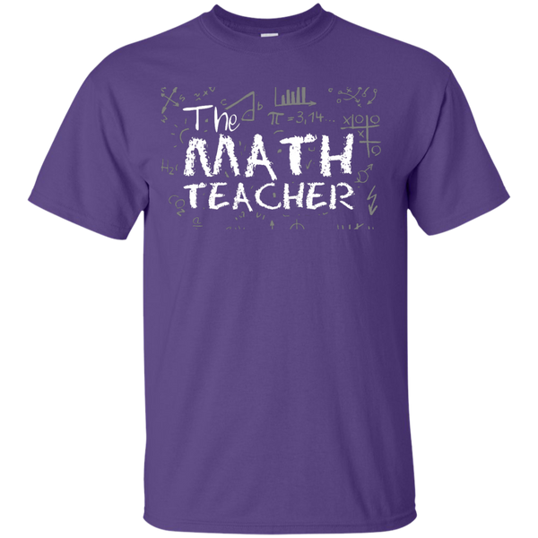 The Math Teacher  T-Shirt - TeachersLoungeShop - 11