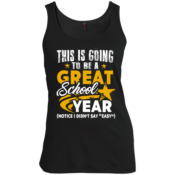 This is Going to be a Great School Year  Women's Scoop Neck Tank Top - TeachersLoungeShop - 2