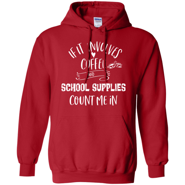 If it involves coffee and school supplies  Hoodies