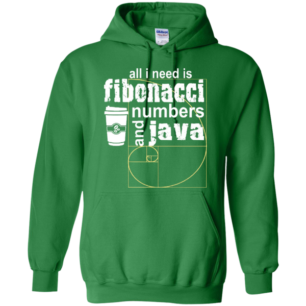 All i need is fibonacci numbers and java  Hoodies - TeachersLoungeShop - 6
