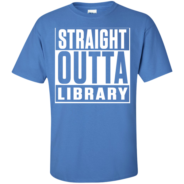 Straight Outta Library T-Shirt - TeachersLoungeShop - 9