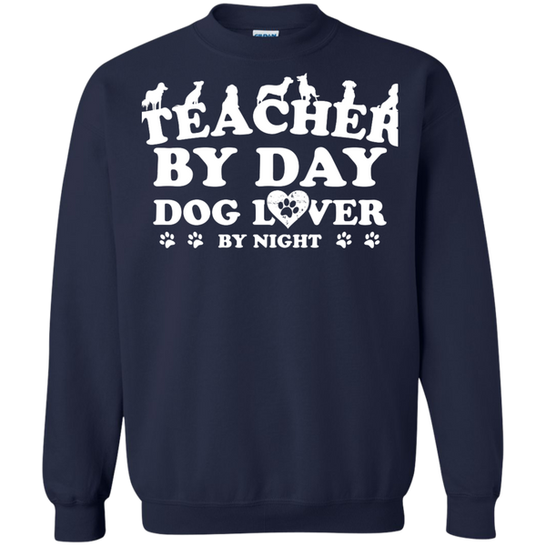 Printed Crewneck Pullover Sweatshirt  8 oz - TeachersLoungeShop - 2