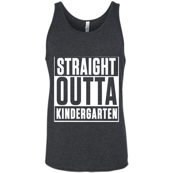 Straight Outta Kindergarten  Bella +Canvas Unisex Tank - TeachersLoungeShop - 6