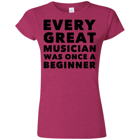 Every great musician was once a beginner  Tshirt