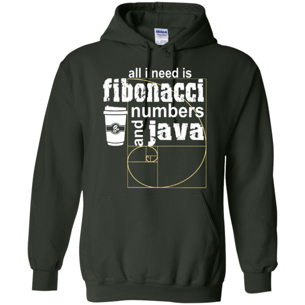 All i need is fibonacci numbers and java  Hoodies - TeachersLoungeShop - 4