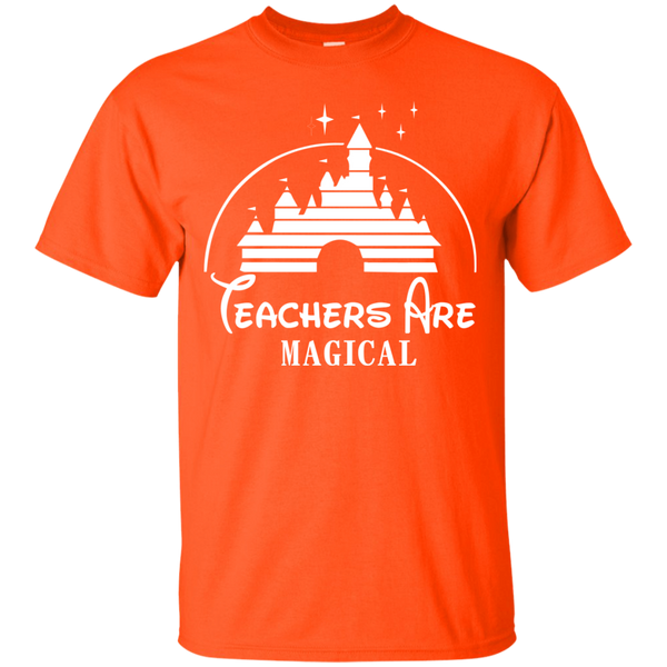 Teachers are Magical Cotton T-Shirt - TeachersLoungeShop - 2