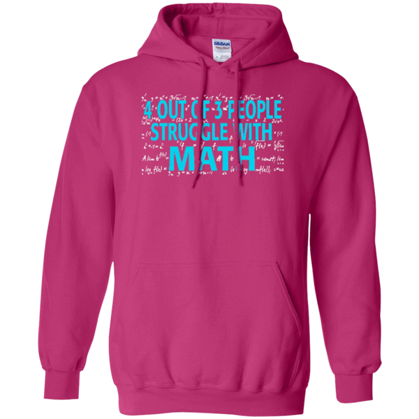 4 out of 3 People Struggle with Math Hoodie oz - TeachersLoungeShop - 5
