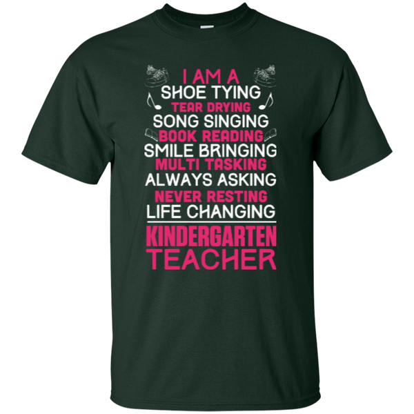 I'm a Kindergarten Teacher  T-Shirt - TeachersLoungeShop - 3