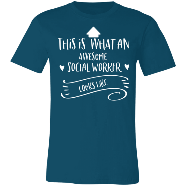 Social worker awesome .  T-Shirt