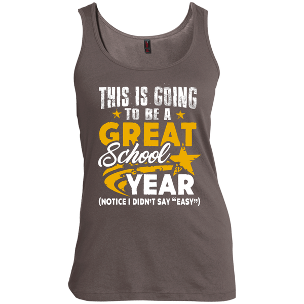 This is Going to be a Great School Year  Women's Scoop Neck Tank Top - TeachersLoungeShop - 1