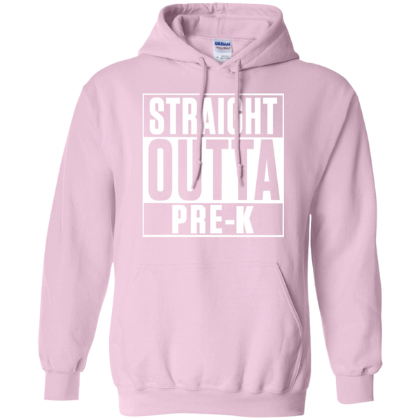 Straight Outta Pre-K   Hoodie 8 oz - TeachersLoungeShop - 9