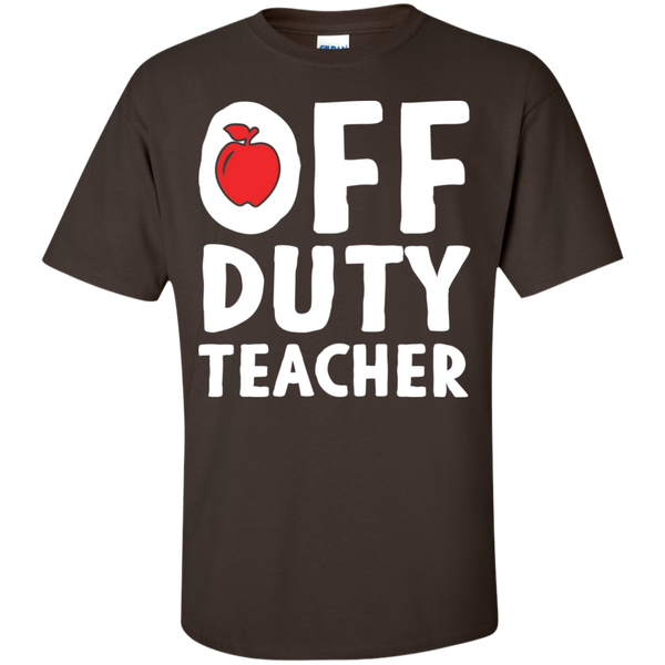 Off Duty Teacher T-Shirt - TeachersLoungeShop - 8