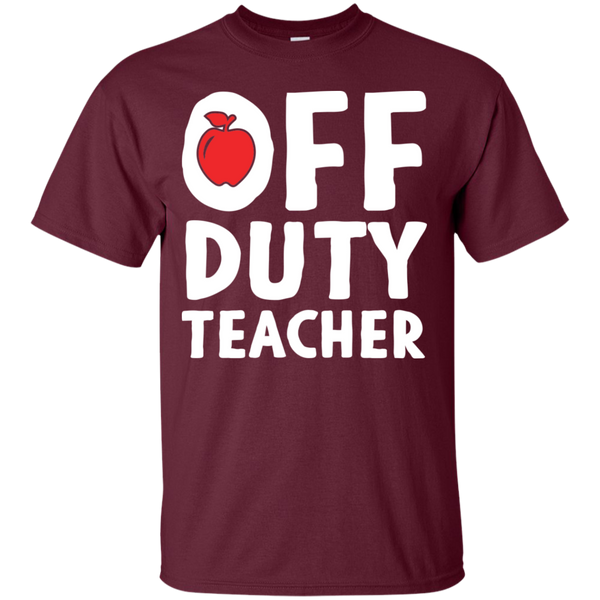Off Duty Teacher T-Shirt - TeachersLoungeShop - 2