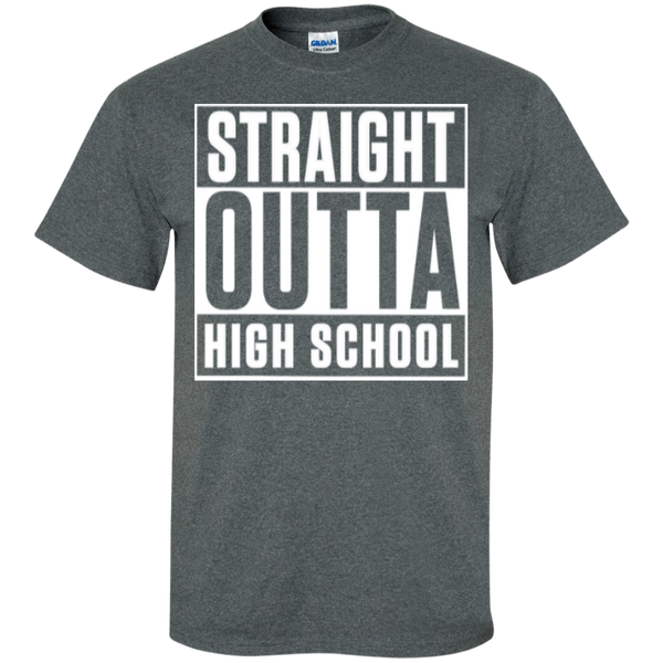 Straight Outta Middle School   Cotton T-Shirt - TeachersLoungeShop - 5