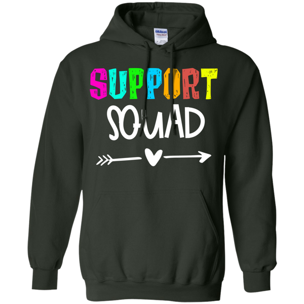 Support Squad    Pullover Hoodie 8 oz.