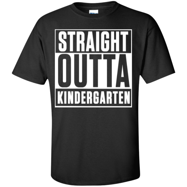 Straight Outta Kindergarten  T-Shirt - TeachersLoungeShop - 1