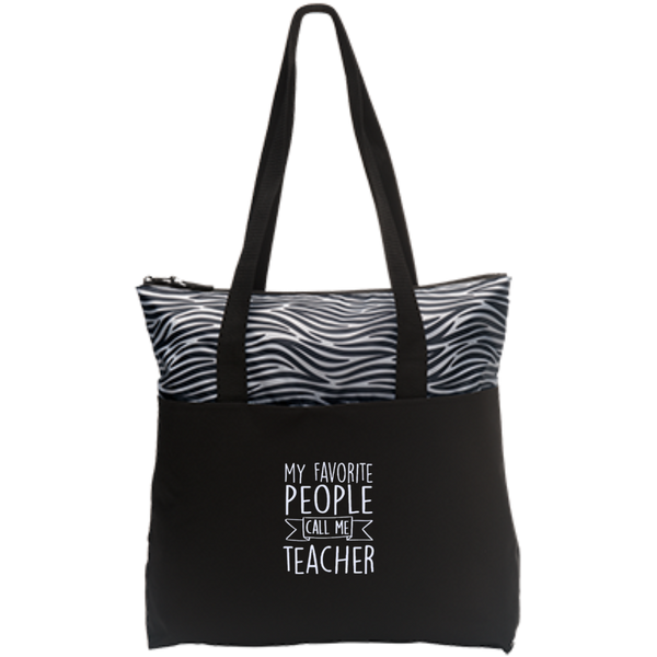 Zip Top Tote - TeachersLoungeShop - 6