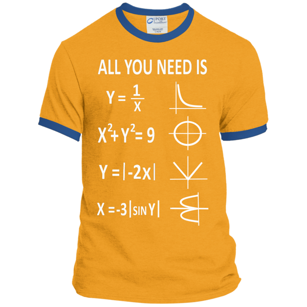 All You Need is Love Ringer Tee - TeachersLoungeShop - 4