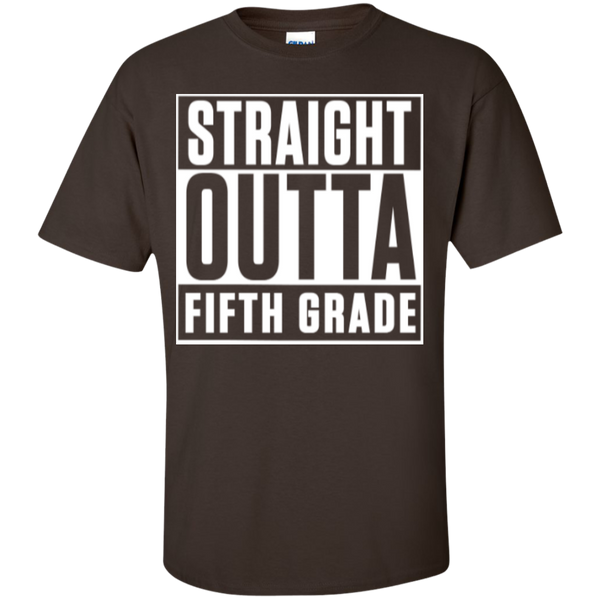 Straight Outta Fifth  Grade   T-Shirt - TeachersLoungeShop - 3