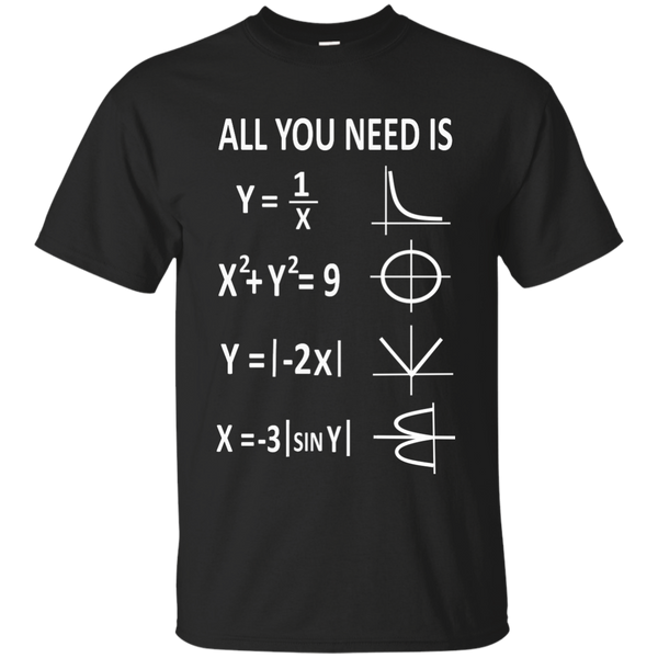 All You Need is Love Cotton T-Shirt - TeachersLoungeShop - 1