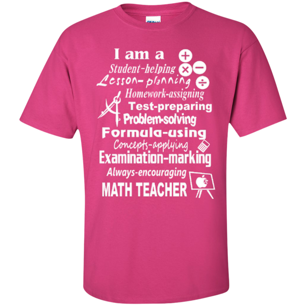 I am a Math Teacher Limited Edition T-shirt Hoodie - TeachersLoungeShop - 4