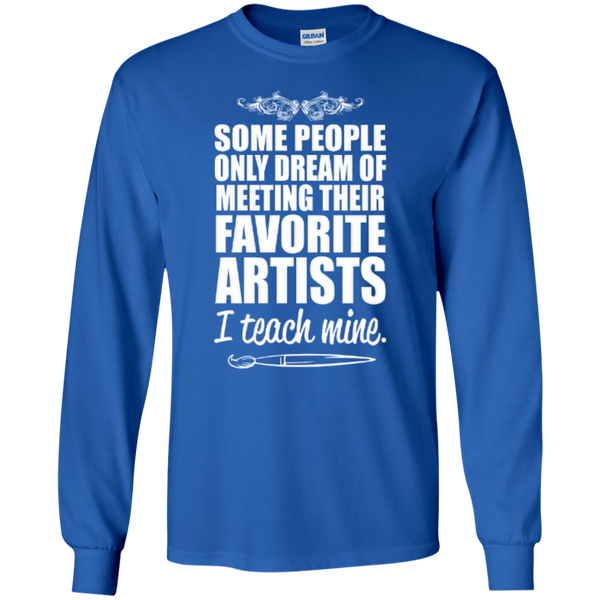 Favourite Artists i Teach Mine LS Tshirt - TeachersLoungeShop - 5