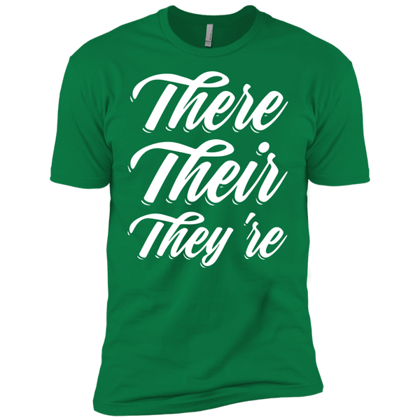 They Their They're  Next Level Premium Short Sleeve Tee - TeachersLoungeShop - 6
