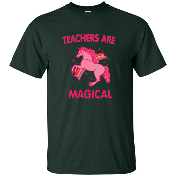 Teachers are Magical Cotton T-Shirt - TeachersLoungeShop - 10