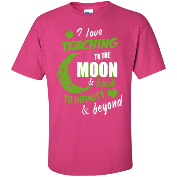 I Love Teaching to the Moon and Back to Infinity and Beyond Teacher T-shirt Hoodie - TeachersLoungeShop - 5