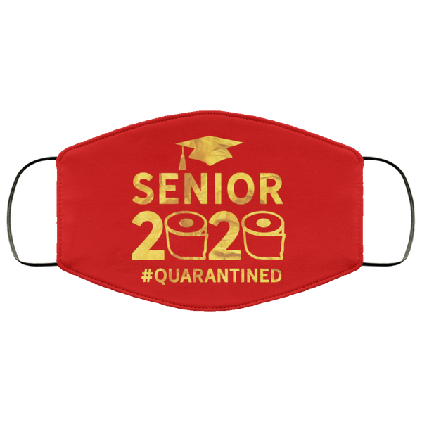 senior 2020 #quarantine  Face Mask