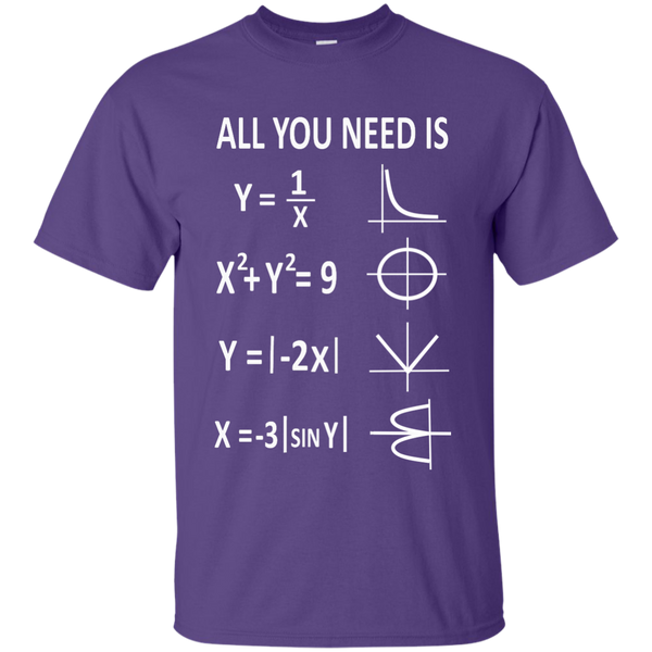 All You Need is Love Cotton T-Shirt - TeachersLoungeShop - 11