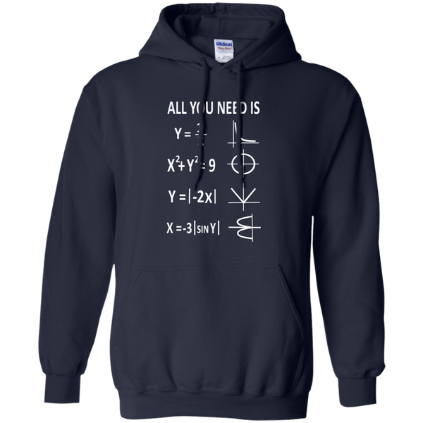 All You Need is Love Pullover Hoodie 8 oz - TeachersLoungeShop - 2