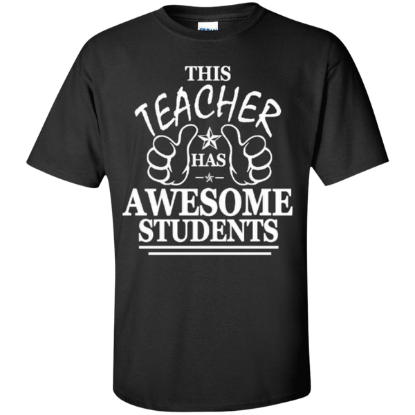 This Teacher has Awesome Students T-shirt Hoodie - TeachersLoungeShop - 1
