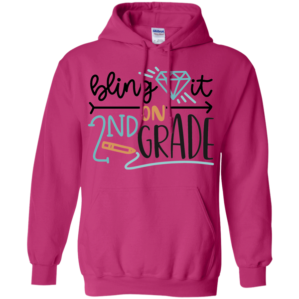 Bling it in 2nd Grade Hoodie