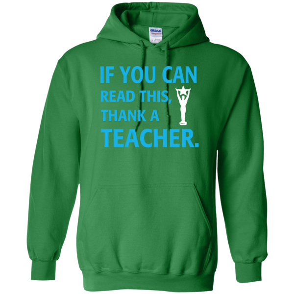 If You Can Read This Thank a Teacher T-shirt Hoodie - TeachersLoungeShop - 8