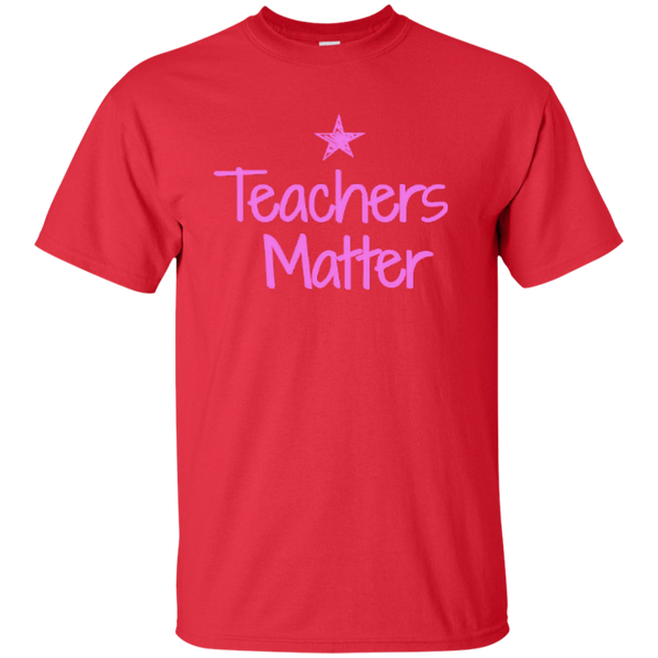 Teachers Matter Cotton T-Shirt - TeachersLoungeShop - 4