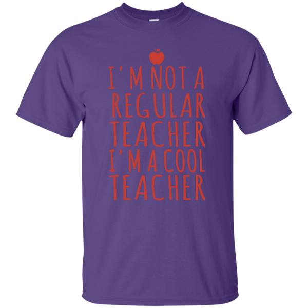 I'm not a Regular Teacher I'm a Cool Teacher T-shirt Hoodie - TeachersLoungeShop - 6