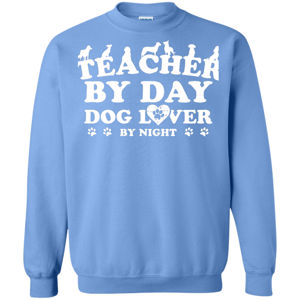 Printed Crewneck Pullover Sweatshirt  8 oz - TeachersLoungeShop - 9