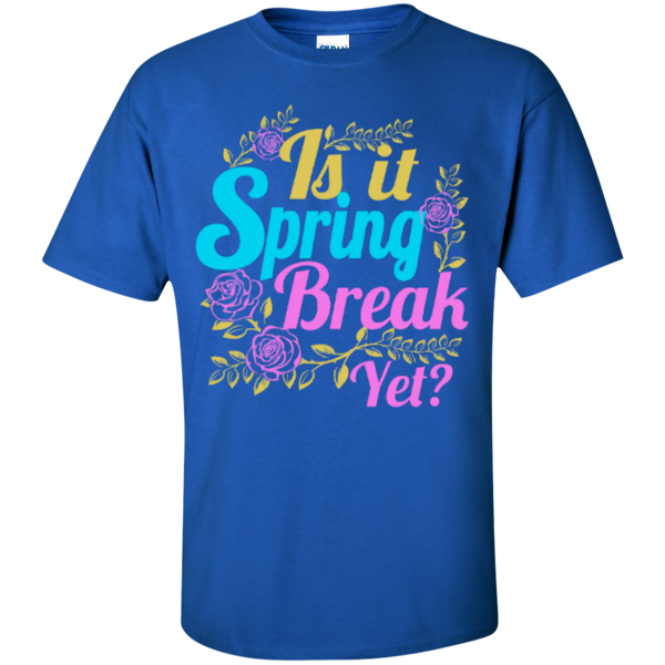 Is it Spring Break Yet Teacher T-shirt Hoodie - TeachersLoungeShop - 3