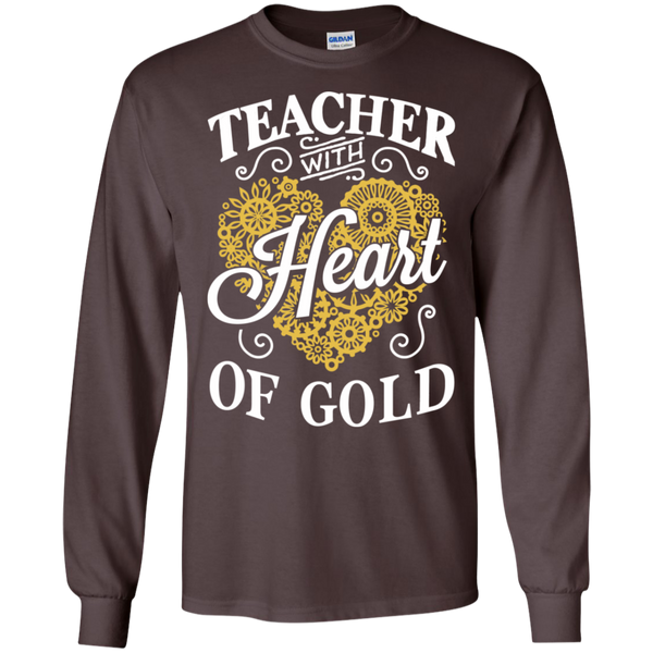 Teacher with Heart of Gold  Ultra Cotton Tshirt - TeachersLoungeShop - 9